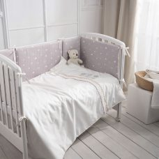 Комплект в кроватку 6 пр Toys Звезды
