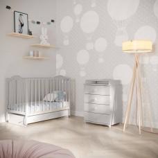 Кровать детская Кубаночка 1  Би 37.3 с продольным маятником