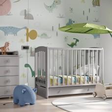 Кровать детская Кубаночка 3 с продольным маятником | Би 39.3