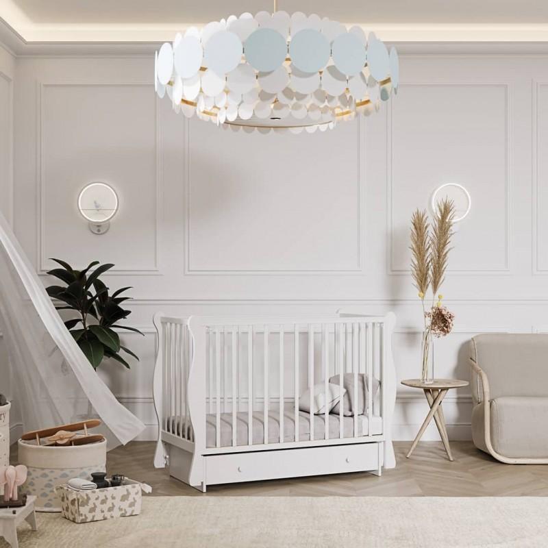 Детская кроватка ЛЕЛЬ (Кубаньлесстрой) Кубаночка-4 БИ 40 универсальный маятник