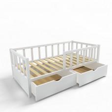 Ящики для кровати 160х80 белые