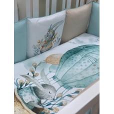 Детское постельное белье  Изумрудный шар  6 предметов