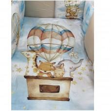 Детское постельное белье  Веселая компания  6 предметов