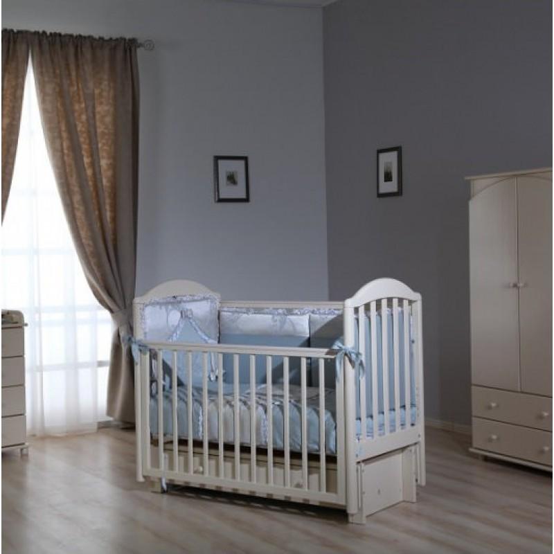 Детская кроватка универсальный маятник АБ 17 Лилия