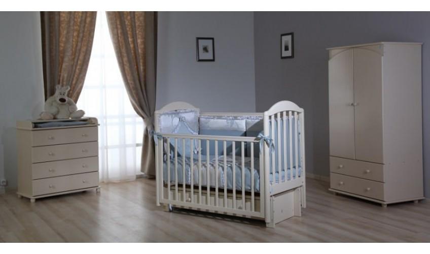 Три уровня ложа на кроватках ЛЕЛЬ-Кубаньлесстрой