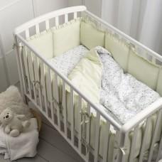 Комплект в кроватку Perina Lovery Dream 3 пр - Дино