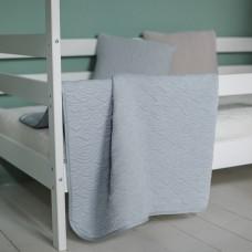 """Плед-покрывало""""Волна голубая"""" в подростковую кровать"""