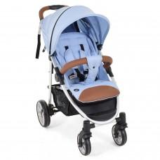 Прогулочная коляска Nuovita Corso - Cветло-голубой, Серебристый