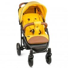 Прогулочная коляска Nuovita Corso - Желтый, Черный