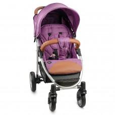 Прогулочная коляска Nuovita Corso - Фиолетовый, Серебристый