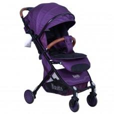 Прогулочная коляска Nuovita Giro Lux - Фиолетовый, Черный