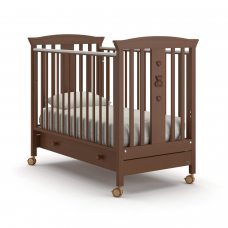 Детская кроватка Nuovita Fasto - Темный орех