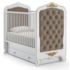 Детская кровать Nuovita Fulgore swing - Белый (поперечный маятник)