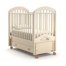 Детская кроватка Nuovita Grano Swing - Слоновая кость (продольный маятник)