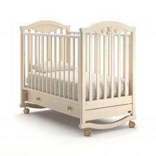 Детская кроватка Nuovita Lusso Dondolo - Слоновая кость (качалка)