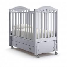 Детская кроватка Nuovita Lusso Swing - Муссон (продольный маятник)