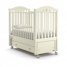 Детская кроватка Nuovita Lusso Swing - Ваниль (продольный маятник)