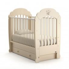 Детская кроватка Nuovita Parte Swing - Слоновая кость (поперечный маятник)