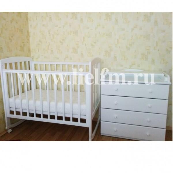 Детская кроватка АБ 16 'Ромашка'