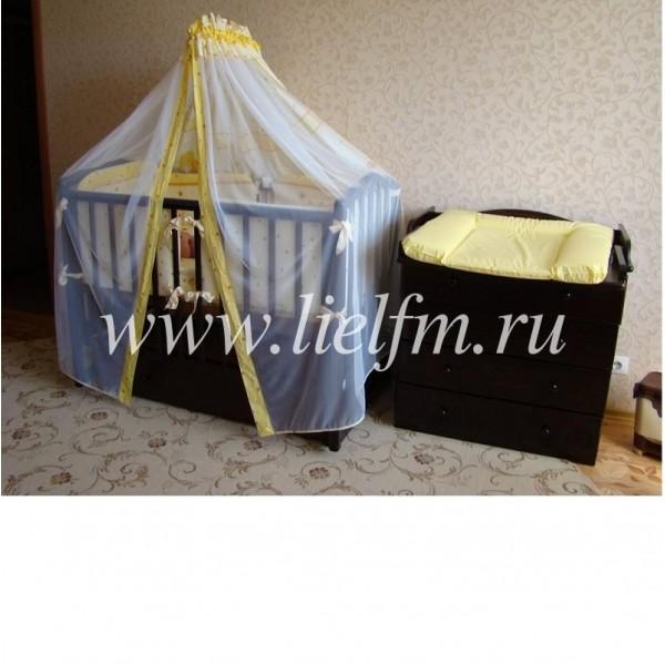Комплект в кроватку 'Ника' 7 предметов