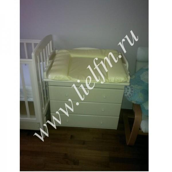 Детский комод со столиком для пеленания АБ 33.4 Лель