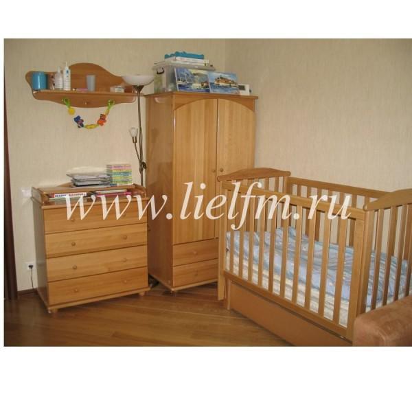 Детская кроватка универсальный маятник АБ 15 Лютик