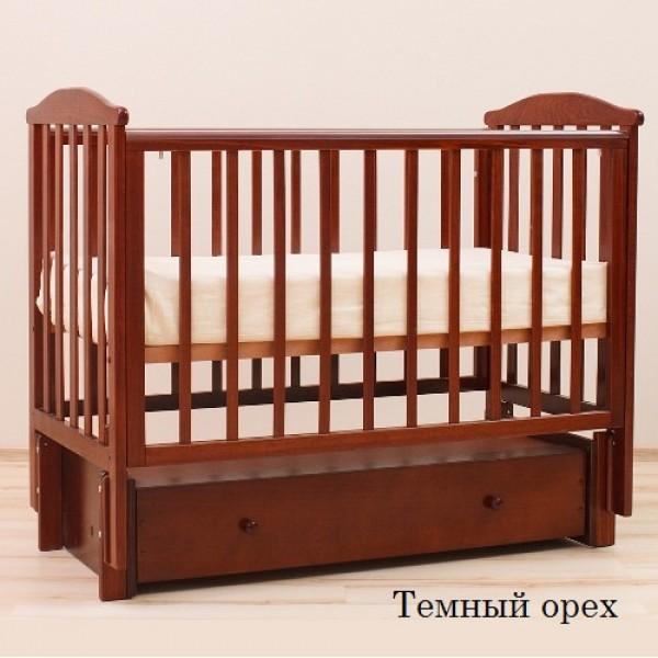 """Детская кроватка продольный маятник АБ 15.3 """"Лютик"""""""