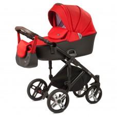 Детская коляска Nuovita Carro Sport 2 в 1 - красно-черный