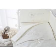"""Комплект постельного белья в кроватку """"Le petit bebe"""" 3 предмета-Коричневый"""